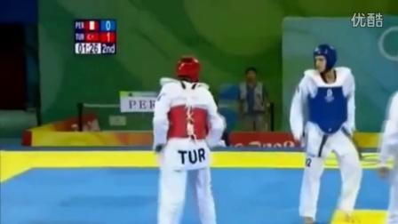 跆拳道竞技比赛 taekwondo