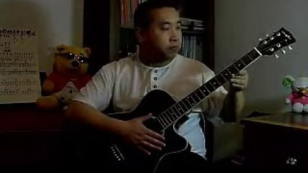 【米萧铅笔屋】吉他入门自学吉他米萧教学初级如何用彩色吉他上色图片