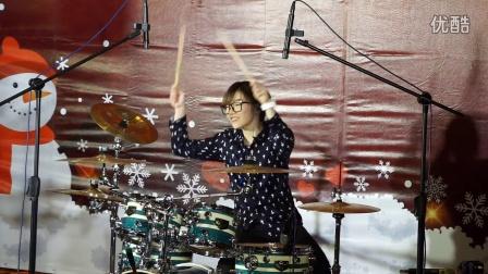 罗小白架子鼓表演 李白视频