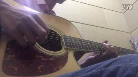陈奕迅《十年》尾奏 木吉他solo