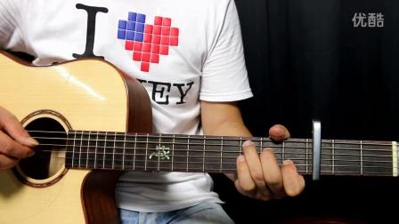 【VIP付费曲谱】吉他弹唱教学《光辉岁月》 视频讲解