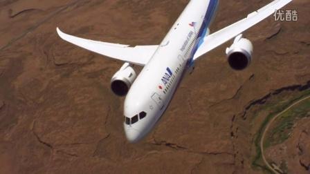 太美了!波音787-9飞机展示