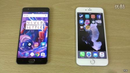 一加3 iPhone6sPlus 速度测评视频