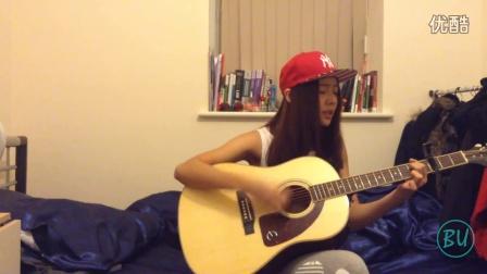 她说林俊杰-清新女生吉他弹唱【比优音乐】