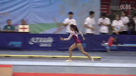 陳卓琳 - Chan Cheuk Lam (HKG) VT1 EF 乙 2016 CHN Junior Nationals, Luoyang