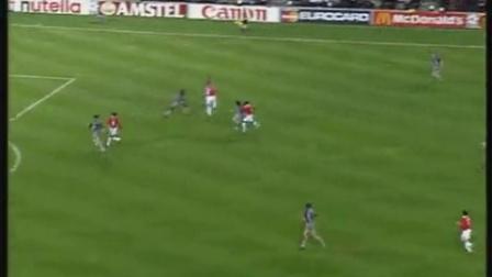 1999年欧冠决赛曼联vs拜仁,下半场+冠军颁奖
