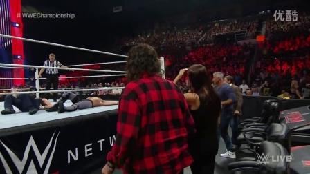 WWE安布罗斯VS塞斯罗林斯 冠军争夺赛,到底谁是冠军