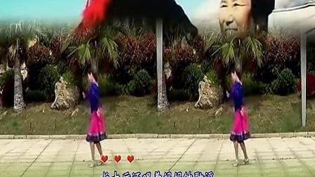 08纯艺舞吧广场舞 妈妈的歌谣(背面演示)