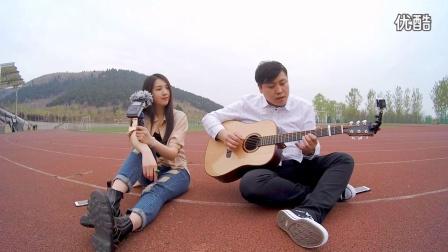 【郝浩涵梦工厂】吉他弹唱 忽然之间(傅小爽)