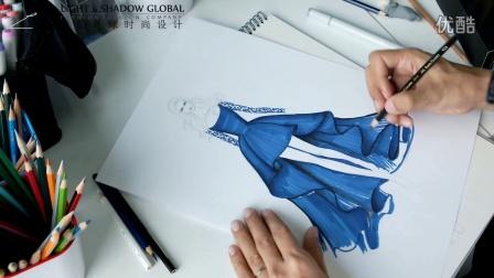 服裝設計手繪視頻教程完整版