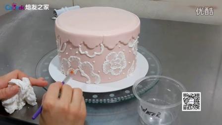 焙友之家丨刷绣翻糖蛋糕,美爆了!01