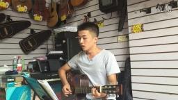 《去大理》吉他弹唱(琴放吉他班)