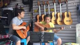 《梦中的婚礼》双吉他(琴放吉他班)