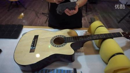 """良心视频!教你如何把""""烧火棍""""改造成单板吉他的声音!"""