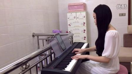 这个世界相遇 大鱼海棠主题曲 电子琴演奏 教学示范 符正校 无名食客