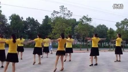 穿心村广场舞溜溜的姑娘像朵花编舞:文雯