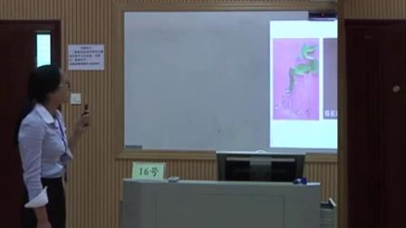 初中生物《植物体的结构层次》说课及模拟教学【余雪梅】(2015年广西全区师范生教师技能大赛)