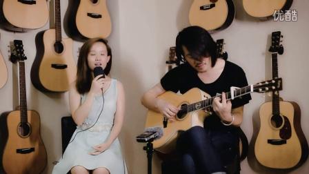王飞木吉他弹唱视频 《同桌的你》凌丹&王飞