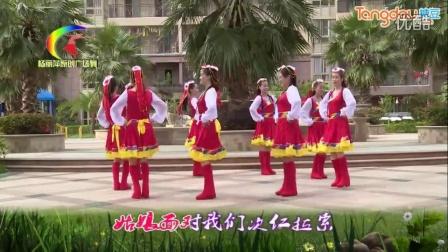杨丽萍原创广场舞唐古拉风暴 糖豆广...
