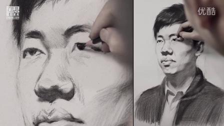 素描头像视频 刘亦菲素颜画画美翻了