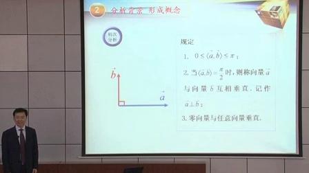 山东省高中数学《向量数量积的物理背景及其含义》说课视频,徐同