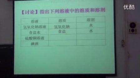 2015年阳春市初中化学课堂教学比赛(一等奖获奖课例)
