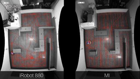 小米扫地机器人演示视频曝光!对比5000元竞品