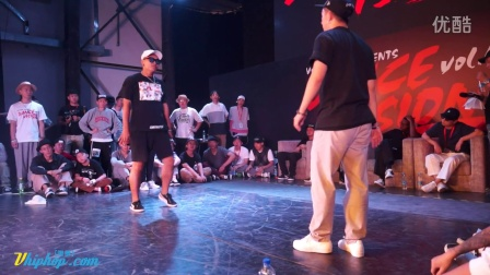 【vhiphop.com】小麦 vs ZO - Dance Vision vol.4 Popping 64进32