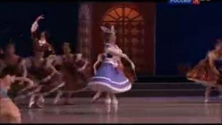 俄罗斯文化台 2016年瓦岗诺娃芭蕾舞校毕业晚会 4-4 仙女娃娃