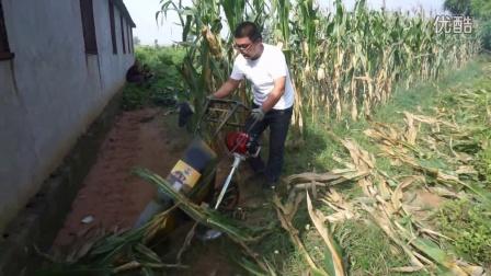 多功能收割机收割玉米演示视频