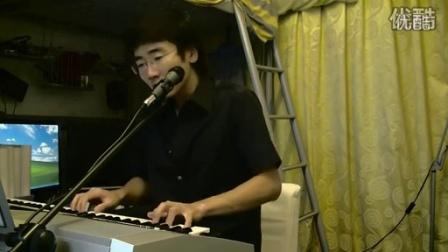 搜狐视频-新不了情from万芳即兴弹唱键盘翻唱钢琴高清