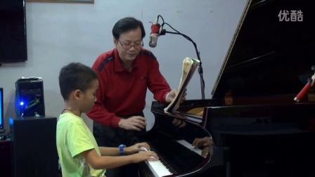 钢琴谱 康定情歌 考级