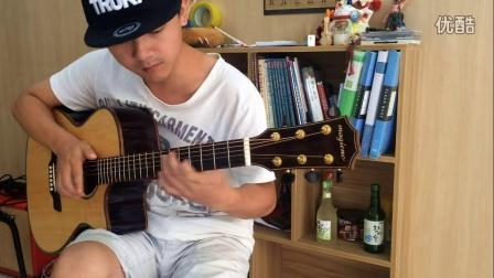 【潇潇指弹】郑成河 《flaming》吉他指弹