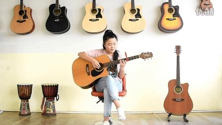 【勐腊辰辰吉他室】学琴24天的学员吉他弹唱 小幸运