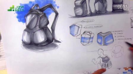工業設計手繪教程-考研快題版面設計表達(下篇)