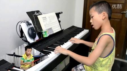 《旋转的时间》  钢琴爵士鼓版