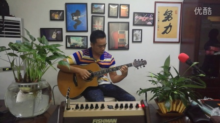 《雨滴》吉他指弹