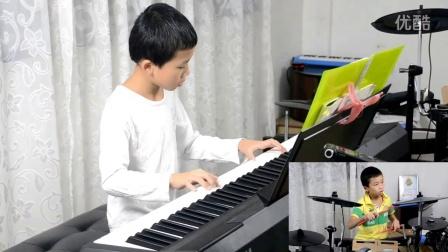 《中秋》原创 当钢琴遇上爵士鼓