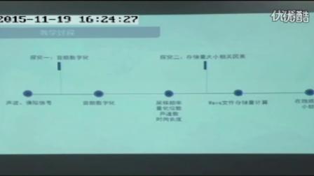 12高中信息《声音素材》说课视频,2015年浙江省高中信息技术课堂教学评比视频