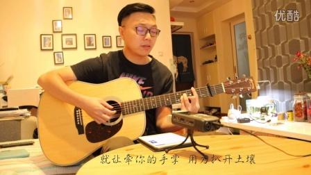 《样》-tfboys-王俊凯-吉他弹唱-阿伦影子