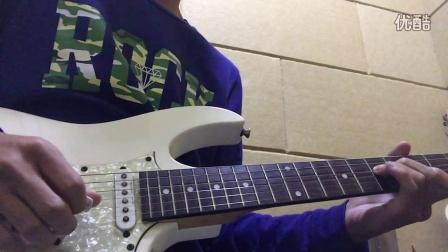 汪峰《在雨中》尾奏/前奏 电吉他solo