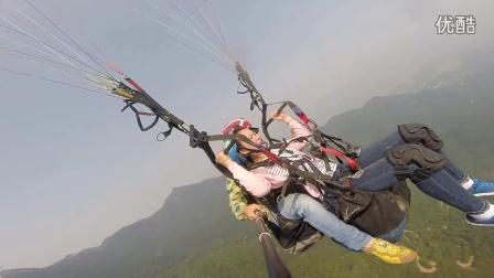 2016-9-25 湘潭义乌阳光日化妹陀滑翔伞体验