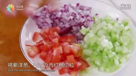 虾沙拉牛角包