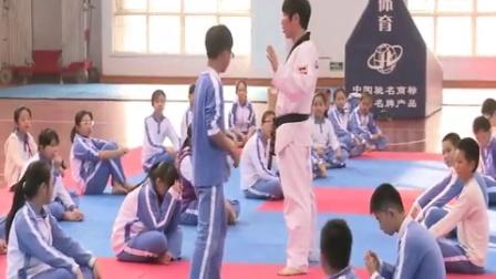 《跆拳道竞技教学》教学课例(七年级体育,龙岗实验学校:陈永范)