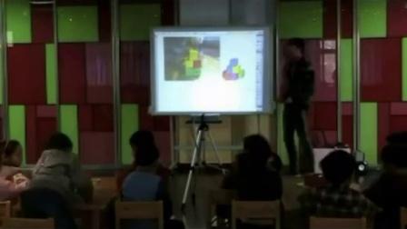 第六届电子白板大赛《数积木》(幼儿园大班数学,常州市野堰区幼儿园:张琪)