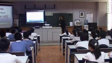 深圳市网络课堂初中音乐同步课堂优秀课例(八年级音乐)