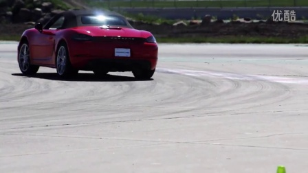 The new 718 Boxster_ Tested on the track in Montreal, Canada