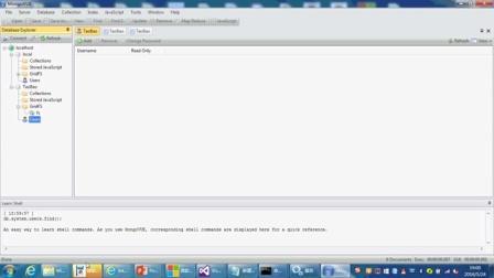 微软ASP.NET MVC6 网站开发实战 HTML5:061-安装MongoDB可视化客户端