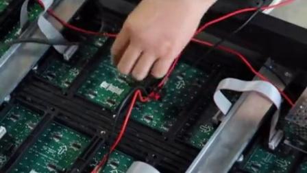 海佳彩亮台州总代理(海佳屏彩光电)15868661617 LED显示屏安装步骤视频 高清