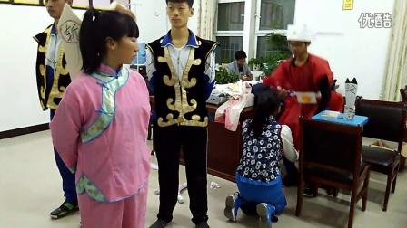 靖边职教中心2015级普高二班话剧《窦娥冤》